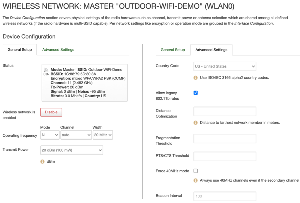 4G Router Wi-Fi Hotspot Basic Settings